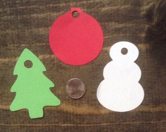 Blank Christmas Gift Tags - 12 ct