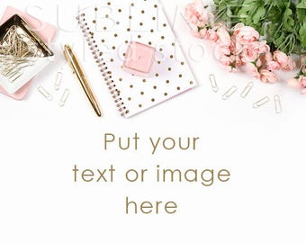 Styled Stock Photography / Styled photo Background / Stock Photos / Etsy Background / Photos for Instagram / Mock Up / Pink / StockStyle-842