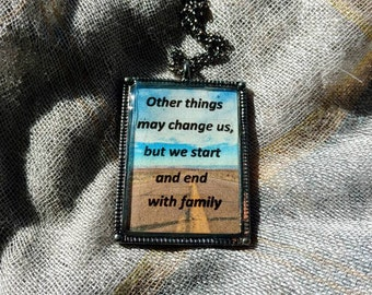 Supernatural Quote Necklace
