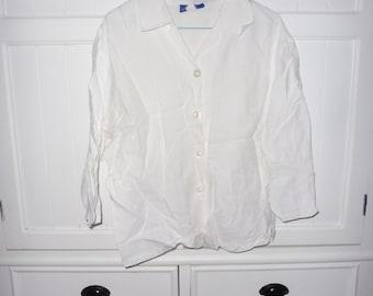 CLAUDE ARIELLE blouse size 48 EN - 1980s