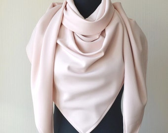 Womens gift Womens scarves Pink scarf Oversized scarf Scarf shawl Spring scarf Fashion scarf Blanket scarf Wedding scarf Women accessories