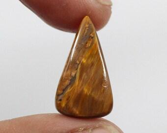 Pietersite Cabochon 7.25Ct (21x13x4  mm) Crazy Shape  Natural Gemstone NS-6080