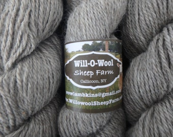 Border Leicester 100% Wool Yarn - Worsted Weight