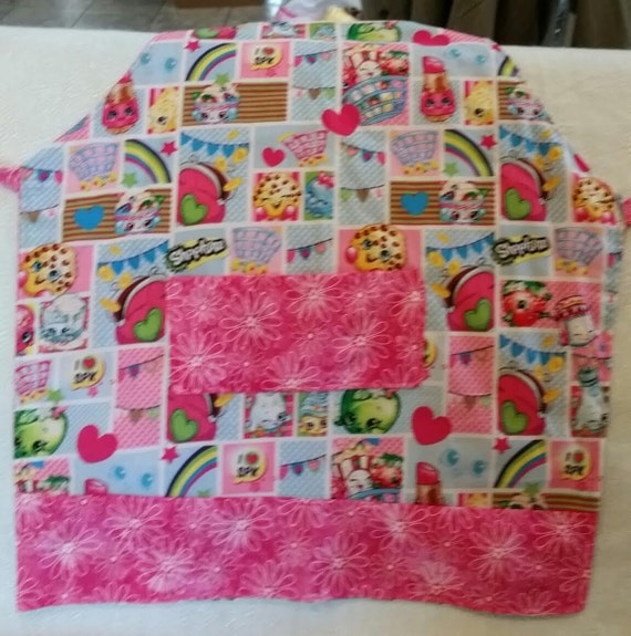 Toddler/Child Pink Shopkins Apron