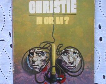 Agatha Christie N or M? Dell Paperback 1974.