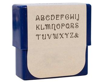 Verona Alphabet Stamp Set - 2 mm Upper Case Metal Marking Stamping Jewelry Tool - PUN-735.00