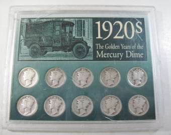1920s The Golden Years Of the Mercury Dime (#E321a)