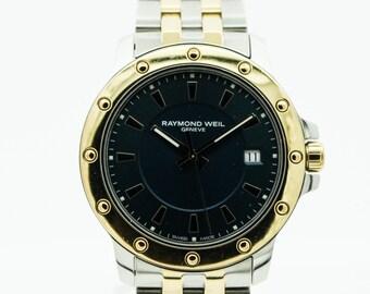 A Gents Raymond Weil Two Tone Tango 5599 Wrist Watch   SKU892