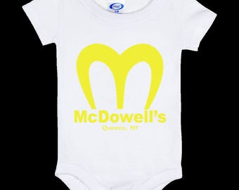 Coming To America McDowell's - Baby Onesie 6 Month
