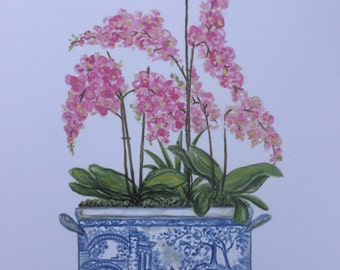Chinoiserie Blue and White