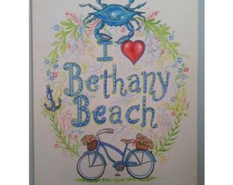 Custom Beach house sign painting