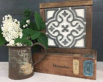 Patterned Tile | DIY Pocket Frame Insert Kit | SIZE A | Frame Not Included