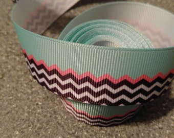 Chevron Ribbon, Bow Making Ribbon, Bow Supplies, Mulit color chevron ribbon