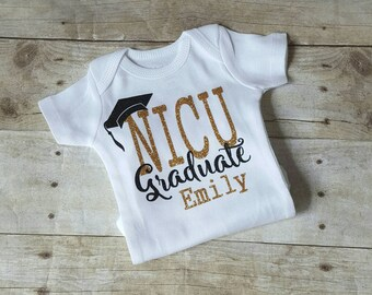NICU Graduate, Personalized Shirt, NICU Personalized Shirt, Preemie clothing