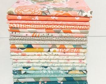 Half Yard Bundle Ava Rose by Deena Rutter for Riley Blake Designs-  5870-21 Fabrics