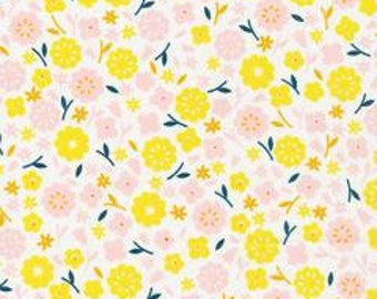 1 Yard  Stay Gold by Aneela Hoey for Cloud 9 Fabrics- 160600 Primrose Cotton