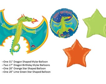 Dragon Balloons