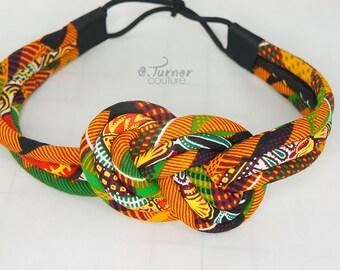 Kente Headband - Kente Cloth African Headband - Africain Fabric Headband - Kente Headband - African headband