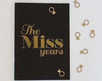 The Miss Years, Hen Party Memory Book (Black)