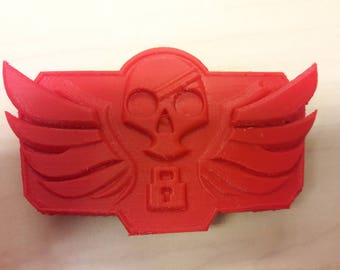 3D Printed Blackwatch McCree Belt Buckle Inspired By Overwatch
