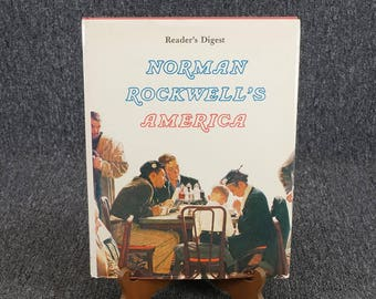 Norman Rockwell's America Reader's Digest By Christopher Finch C. 1975