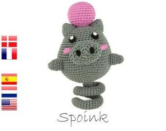 crochet pattern Spoink (Pokemon)