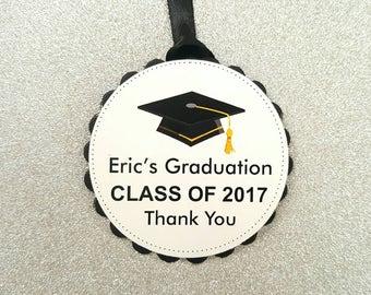 Graduation party decor / graduation tags / graduation party tags / graduation hang tags