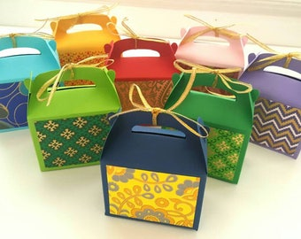 Indian wedding favor boxes / indian wedding favors / wedding favor boxes / indian favors / Indian wedding favour boxes