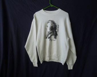 90s Mozart Classical Musician Sweatshirt