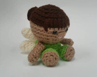Fairy Crochet Doll Mini Amigurumi Stuffed Toy