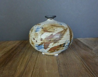 Otto and Vivika Heino, signed Stoneware Bottle