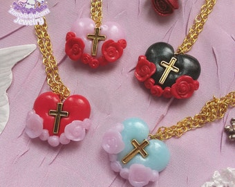Grace necklace cpk cult party kei larme lolita