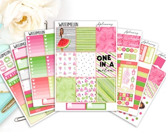 Watermelon | Summer Planner Sticker Deluxe Kit