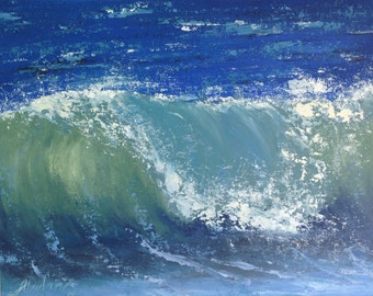 marine art ,oil painting, seascape, ocean oil painting, seascape painting, ocean wave oil painting FREE US SHIPPING