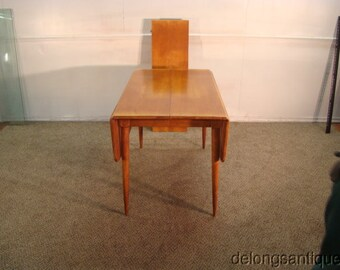 Lovely Cushman Solid Maple Retro Style Drop Leaf Dining Table