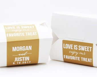 Cake Favor Box, Take Out Box, To Go Box, Favor Label, Cake Box, Favor Box, Doughnut Box, Cookie Box, Candy Box, Dessert Box, Morgan Justin