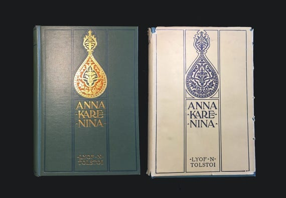 Anna Karenina, by Tolstoi...
