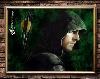 Arrow portrait