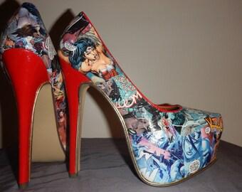 Wonder women pumps