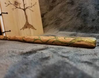 Wood wand, nature, vine, wands, unique gift, cosplay, fairy, witch, wizard