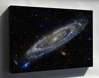 Canvas 24x36; Nasa Galaxy Evolution Explorer Andromeda Galaxy