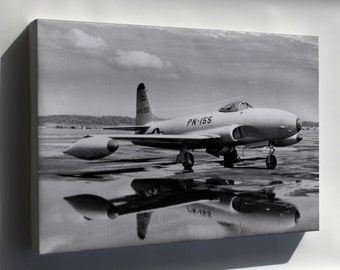 Canvas 16x24; Lockheed P-80 Shooting Star P10