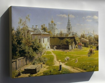 Canvas 16x24; Moscow Patio By Vasiliy Polenov