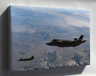 Canvas 16x24; F-35 Lightning Ii, 31St Test And Evaluation Squadron