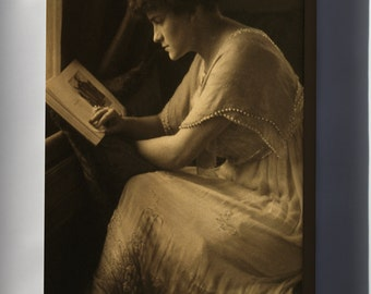 Canvas 16x24; Gertrude Kasebier Portrait Of Martine Mcculloch
