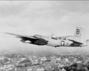 16x24 Poster; Douglas B-26B Invader B-26 3Rd Bomb Group, Korean War 1951