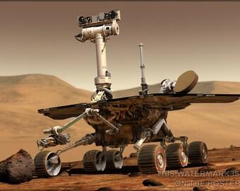 16x24 Poster; Nasa Mars Rover Spirit  Opportunity