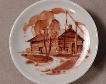Arabia of Finland Miniature Porcelain Plate