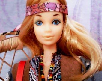 OOAK Barbie : Flower Power PJ