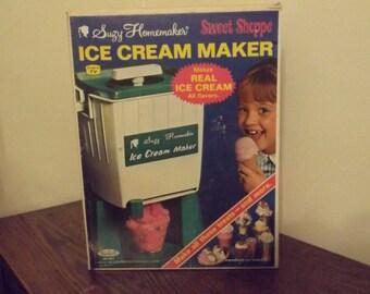 Suzy Homemaker Ice Cream Maker